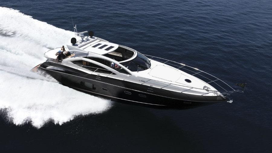 64 Sunseeker luxury charter yacht