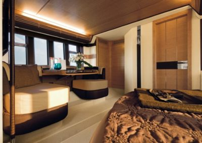 64 Azimut yacht master cabin night table