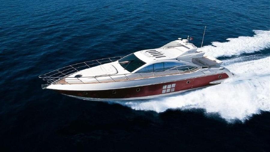 68 Azimut Miami charter yacht