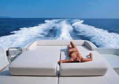 68 Azimut Miami charter yacht cruising