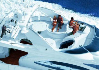 68 Azimut luxury charter yacht