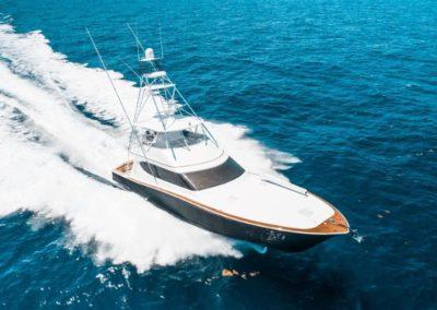 70 Hatteras luxury sportfish yacht