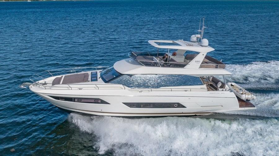 70 Prestige Miami rental yacht