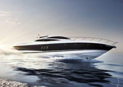 72 Sunseeker rental yacht