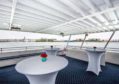 74 Skipperliner party yacht open deck