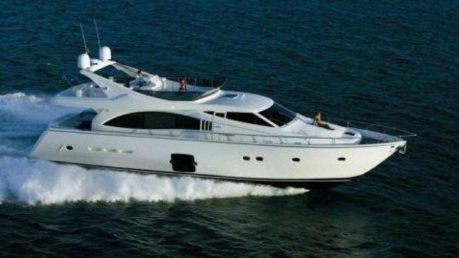 75 Ferretti Miami charter yacht