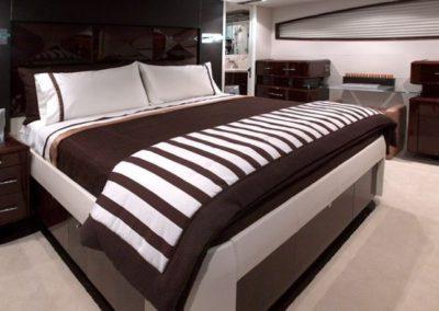 75 Lazzara yacht master stateroom