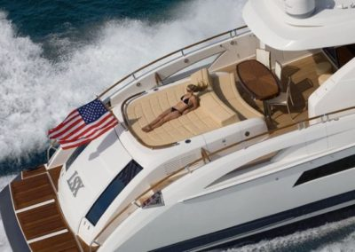 75 Lazzara charter yacht in Miami