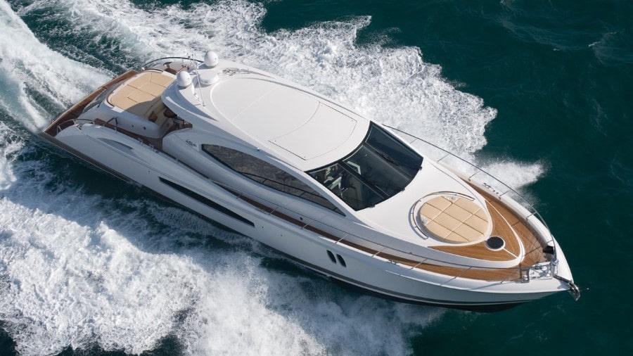 75 Lazzara Miami charter yacht