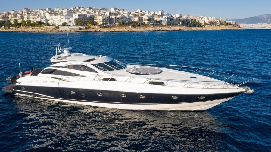 75 Sunseeker Miami rental yacht