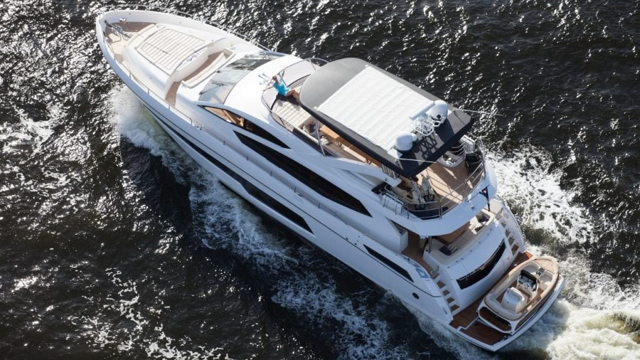 75 Sunseeker luxury charter yacht