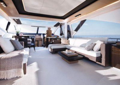 77 Azimut yacht salon