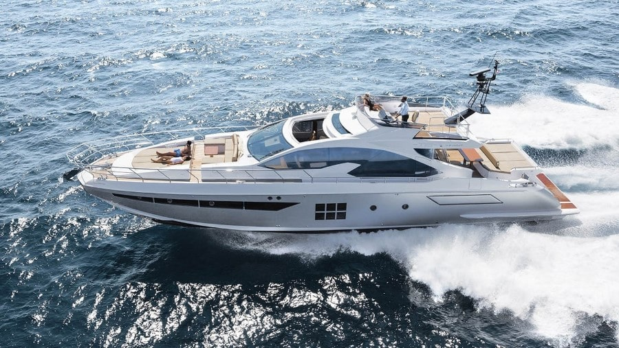 77 Azimut luxury rental yacht