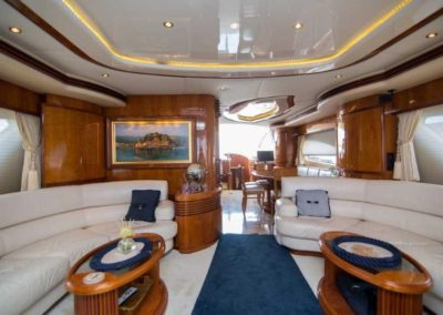 80 Azimut yacht salon