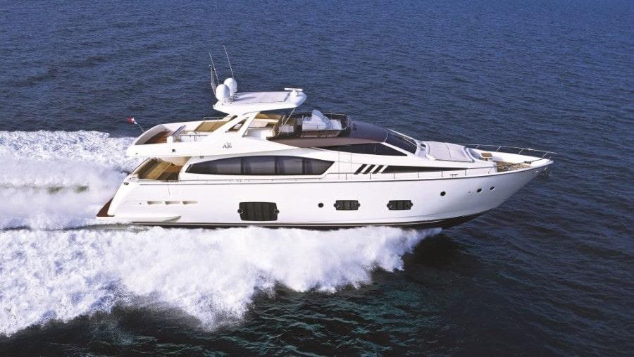 81 Ferretti Miami charter motor yacht
