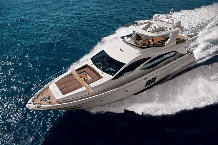 84 Azimut charter motor yacht