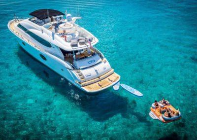 84 Lazzara yacht charter in Miami