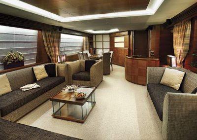 85 Azimut yacht salon