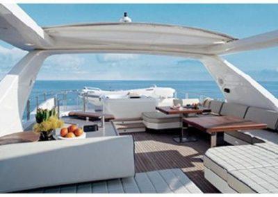 85 Azimut charter motor yacht