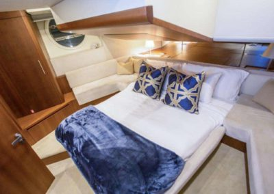 85 Aicon yacht guest stateroom