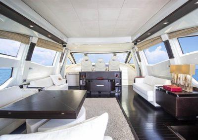 86 AzimutS yacht salon lounge