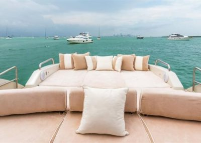 86 AzimutS yacht chartered in Miami