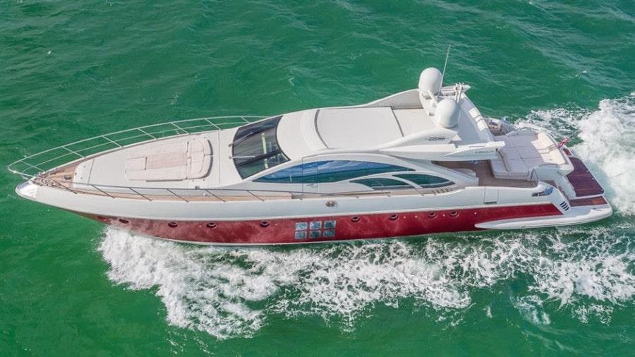 86 Azimut Miami yacht