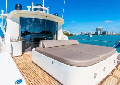 90 Leopard yacht aft deck