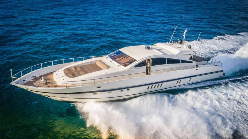 90 Leopard luxury sport yacht