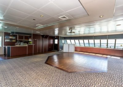 111 Austal party yacht dance floor