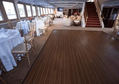 130 Chesapeake party yacht dance floor