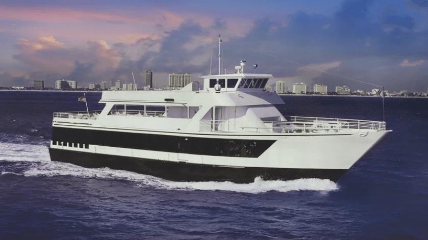 130 Chesapeake party yacht