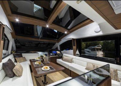 51 Galeon yacht salon