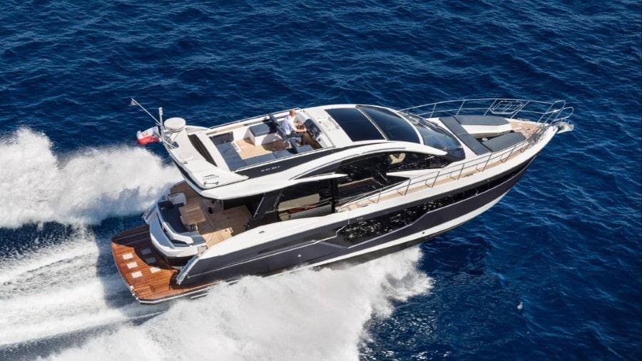51 Galeon luxury Miami charter yacht