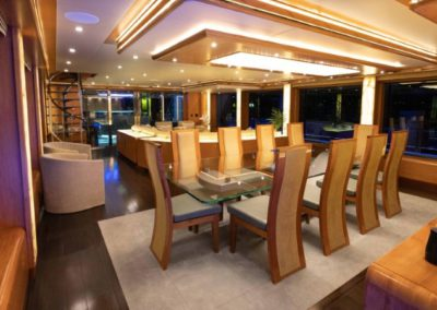 133 IAG yacht formal dining