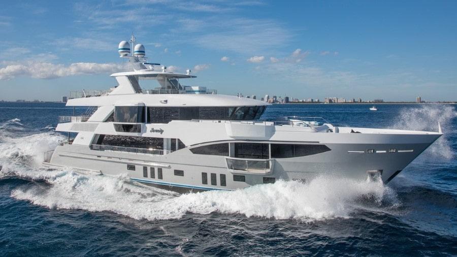 133 IAG luxury charter yacht