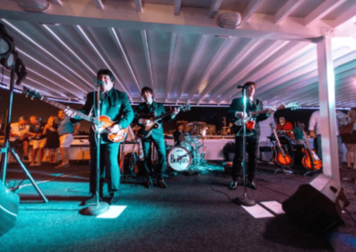 120K Marine party yacht live band