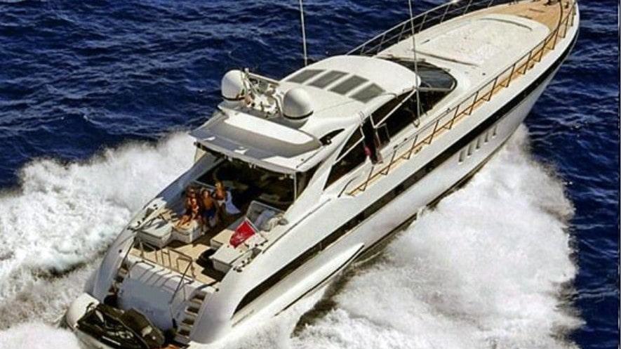 80 Mangusta Miami rental motor yacht