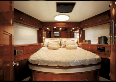 60 Marquis yacht guest cabin