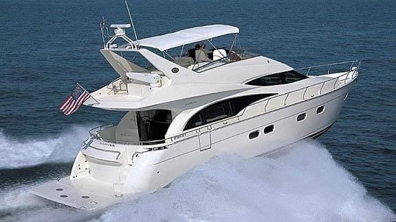 60 Marquis Miami charter yacht