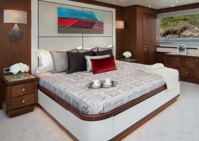 112 Ocean yacht master stateroom