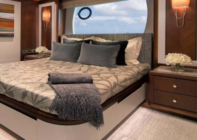 112 Ocean yacht guest stateroom one