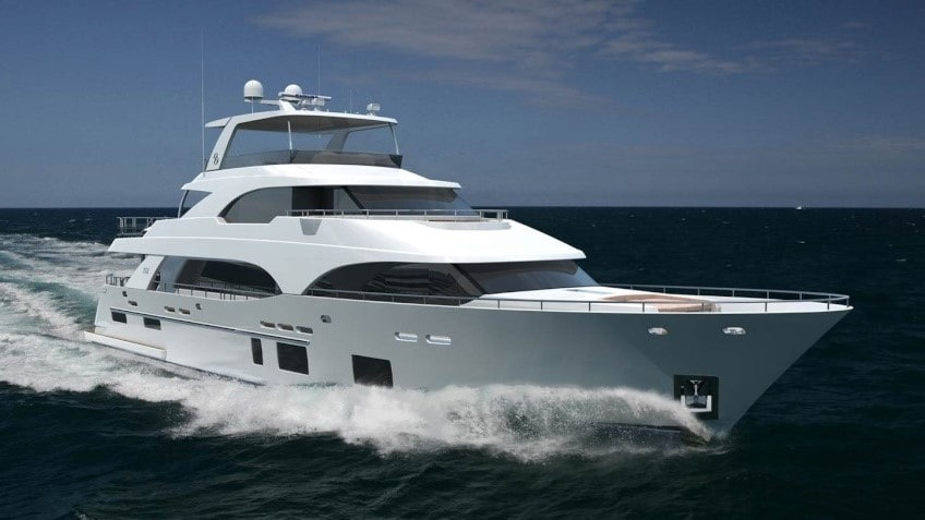 112 Ocean luxury charter yacht