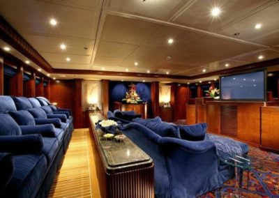 228 Oceanfast yacht movie theater
