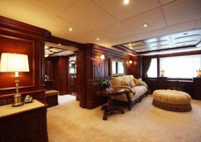 228 Oceanfast yacht main deck lounge