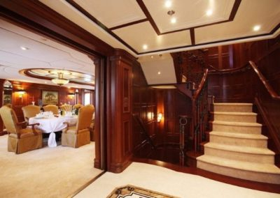 228 Oceanfast yacht hall and formal dining