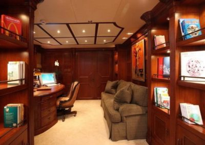 228 Oceanfast yacht work office and library