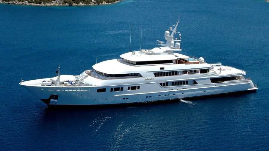 228 Oceanfast luxury charter yacht
