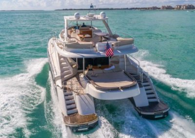 62 Luxury Power Catamaran on charter in Miami