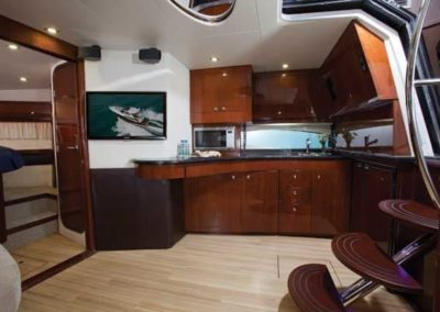 46 Regal yacht galley